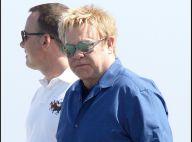 PHOTOS : Elton John et David Furnish, toujours amoureux à Saint-Tropez !