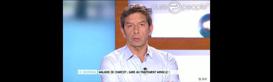 J r me golmard gravement malade l 39 ex tennisman victime d 39 un m decin charlatan - Michel cymes et marina carrere d encausse ...