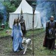"""Sophie Turner dans le rôle de Sansa Stark Lannister dans """"Game of Thrones"""" (2011-2014)."""