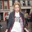 Peaches Geldof à Londres, le 10 avril 2009.