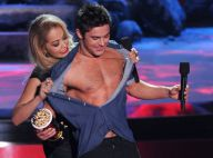 MTV Movie Awards : Zac Efron torse nu face à Eminem et Rihanna, duo explosif