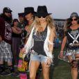 Fergie lors 2ème jour du festival de Coachella, le 12 avril 2014.