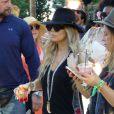 Fergie lors du premier jour du festival de Coachella, le 11 avril 2014.