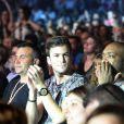 David Carreira, le fils de Tony Carreira -au concert exceptionnel de Tony Carreira au Palais des Sports à Paris, le 12 avril 2014.
