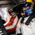 Le prince Albert II de Monaco est venu assister aux qualifications d'une épreuve de championnat WTCC, au circuit Paul Ricard du Castellet, auxquelles le pilote Sébastien Loeb participe. Le 19 avril 2014. A cette occasion, il a fait quelques tours de circuit.