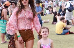 Alessandra Ambrosio : Week-end musical très stylé avec sa fille Anja