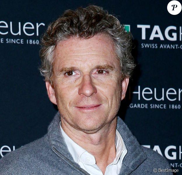Denis Brogniart - Photocall de la soiree TAG Heuer qui célèbre le 50e anniversaire de son icône, la CARRERA, au pavillon Vendôme à Paris, le 6 novembre 2013.
