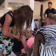 Anaïs et Benjamin s'offrent une scène torride dans Les Anges de la télé-réalité 6 sur NRJ 12 le mardi 22 avril 2014