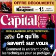 Capital, en kiosques le 24 avril 2014.