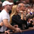 Jelena Ristic, fiancée de Novak Djokovic, lors de la finale du Masters 1000 de Paris-Bercy, le 3 novembre 2013, remportée par le Serbe aux dépens de David Ferrer.