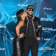 Alicia Keys et Swizz Beatz à la première de The Amazing Spider-Man 2 au Ziegfeld Theater de New York, le 24 avril 2014.