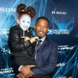 Jamie Foxx et sa fille Annalise Bishop à la première de The Amazing Spider-Man 2 au Ziegfeld Theater de New York, le 24 avril 2014.