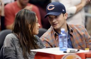 Mila Kunis enceinte : Tendres moments dans les bras de son chéri Ashton Kutcher