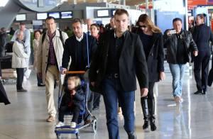 Carla Bruni : Retour relax en France avec Nicolas Sarkozy et leur petite Giulia