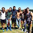 Shy'm et ses amis lors de son road trip en Afrique du sud en mars 2014