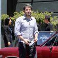 Ben Affleck à Brentwood, Los Angeles, le 2 mai 2014