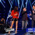 Karine Ferri : un mini-short et des gambettes de rêve sur le plateau de The Voice 3, sur TF1