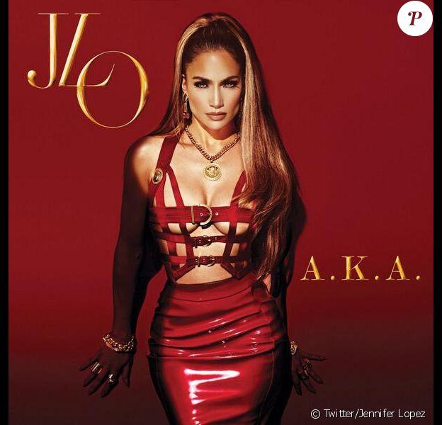 Jennifer Lopez a dévoilé la pochette de son nouvel album, A.K.A, le 5 mai 2014.