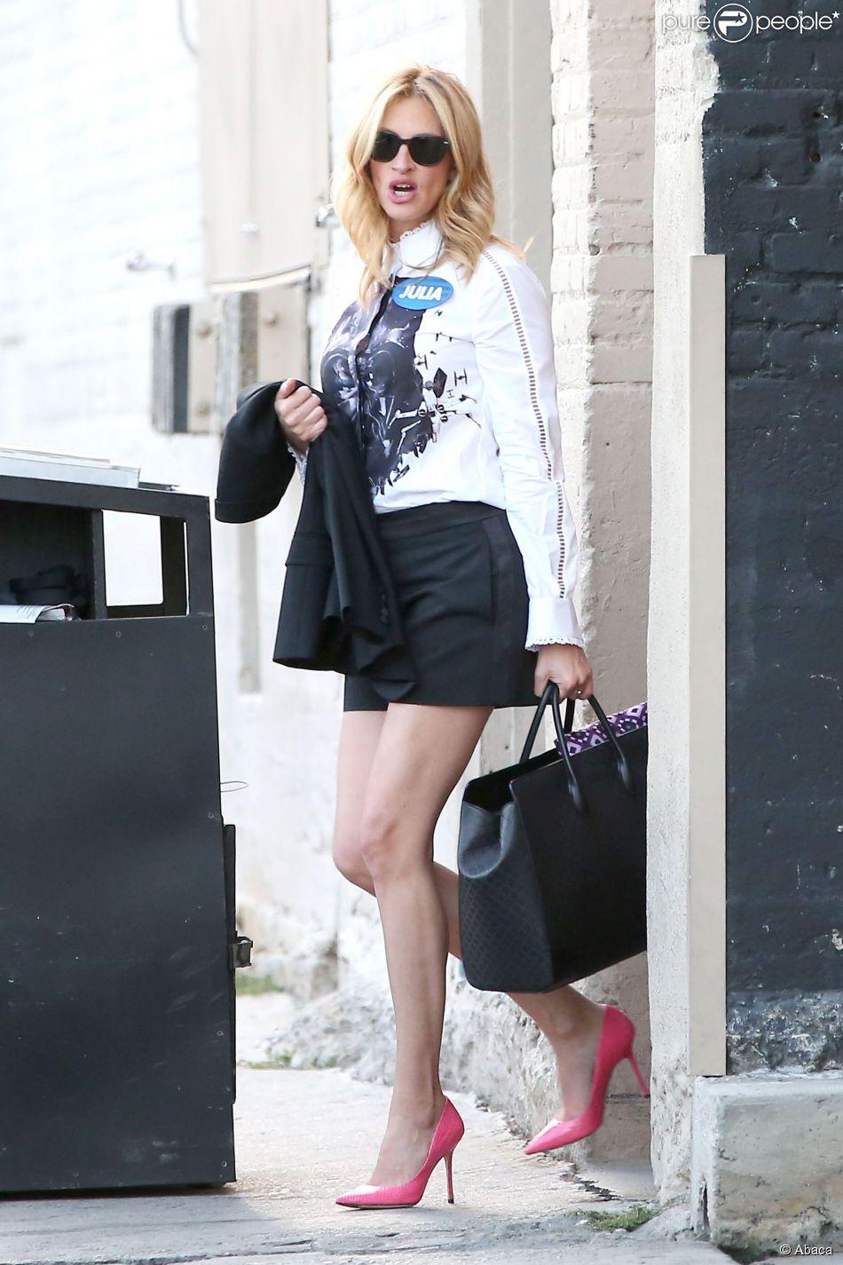 Julia Roberts invitée du Jimmy Kimmel Live à Hollywood, Los Angeles, le 5 mai 2014.