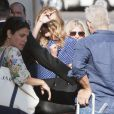 Julia Roberts arrive au El Capitan Theatre à Hollywood pour le Jimmy Kimmel Live, le 5 mai 2014.