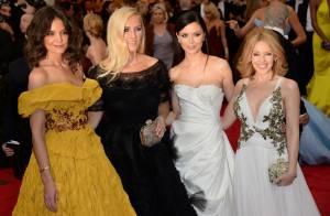 Met Gala : Katie Holmes et Kylie Minogue, divin duo, ambassadrices d'un soir