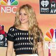 """La chanteuse Shakira lors de la soirée des 1ers """"I Heart Radio Music Awards"""" au Shrine Auditorium à Los Angeles, le 1er mai 2014."""