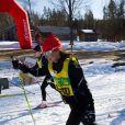 Pippa Middleton lors de la course à skis Vasaloppet en Suède en mars 2012
