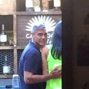 George Clooney et sa fiancée Amal: C'est la fête avec Cindy Crawford et son mari