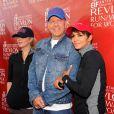 Christina Applegate, Bruce Willis et Halle Berry lors de la 21e course EIF Revlon Run/Walk For Women à Los Angeles, le 10 mai 2014.