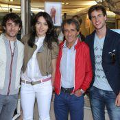 Alain Prost : Entouré de ses enfants, il présente ses créations familiales
