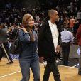Beyoncé et Jay Z au Barclays Center. Brooklyn, New York, le 13 mai 2014.