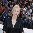 """Aymeline Valade - Photocall du film """"Saint Laurent"""" lors du 67e festival international du film de Cannes, le 17 mai 2014."""