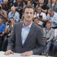 """Gaspard Ulliel - Photocall du film """"Saint Laurent"""" lors du 67e festival international du film de Cannes, le 17 mai 2014."""