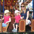 Savannah, Isla et Autumn Phillips au Royal Windsor Horse Show le 17 mai 2014.