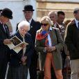 La reine Elizabeth II est venue voir son cheval Tower Bridge au premier jour du Royal Windsor Horse Show, le 14 mai 2014