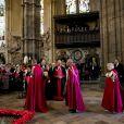 La reine Elizabeth II prenait part le 9 mai 2014 aux cérémonies de l'ordre de Bath à Westminster, conduites tous les 4 ans par son fils le prince Charles et auxquelles elle assiste une fois tous les 8 ans.