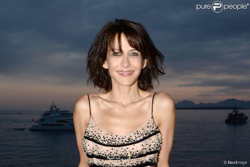 Sophie Marceau - Soirée Vanity Fair Armani à l'Eden Roc au cap d'Antibes le 17 mai 2014