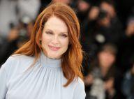 Cannes 2014 : Julianne Moore, étoile scintillante aux côtés de Robert Pattinson