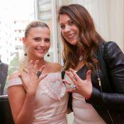 Marion Bartoli et la ''Bella'' Kelly Vedovelli : Précieuses devant Brahim Zaibat