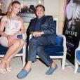 Exclusif - Kelly Vedovelli, Edouard Nahum lors des essayages Edouard Nahum à l'Hotel Carlton, lors du 67e Festival de Cannes, le 19 mai 2014