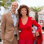 Sophia Loren avec son fils : Resplendissante à Cannes depuis 60 ans !