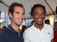 Yannick Noah et Richard Gasquet : Leur étonnant match de tennis... en pleine rue