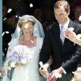 """"""" Image du mariage religieux de la princesse Carolina de Bourbon-Parme et d'Albert Brenninkmeijer à Florence le 16 juin 2012. Le couple a eu le 20 mai 2014 son premier enfant, une petite fille. """""""