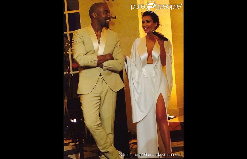 Mariage de Kim Kardashian et Kanye West  Leur soirée grandiose à Versailles