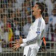Cristiano Ronaldo lors de la finale de la Ligue des champions au Stade de la Luz à Lisbonne, le 24 mai 2014 entre le Real Madrid et l'Atlético Madrid (4-1)