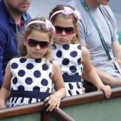 Roger Federer : Ses adorables jumelles, Charlene et Myla, supportrices fidèles