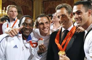 PHOTOS : Quand Nicolas Sarkozy reçoit les médaillés français à l'Elysée !