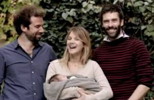 Mélanie Laurent : Son bébé Léo dans les bras pour défendre son beau projet