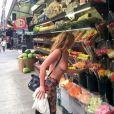 Scout LaRue Willis a publié des photos d'elle seins nus dans les rues de New York le 27 mai 2014 pour protester contre la politique de censure menée par le réseau social Instagram.