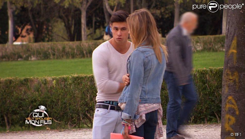 Gros clash entre Florie et Florian (Qui veut épouser mon fils ? saison 3 - épisode 6 du vendredi 30 mai 2014.)